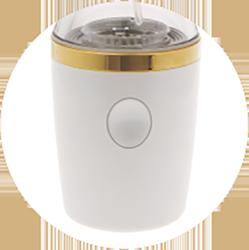 Lita水素Hydrogen Mist mini(ハイドロゲンミスト)タッチセンサー式の電源ボタン!水素サロンMove on公式ページより